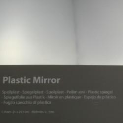 Plastikspiegel halbspiegelnd