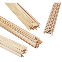 Holzleiste vierkant