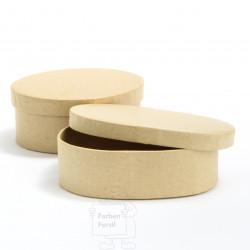 Pappschachtel oval